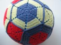 patroon gehaakte ballonbal